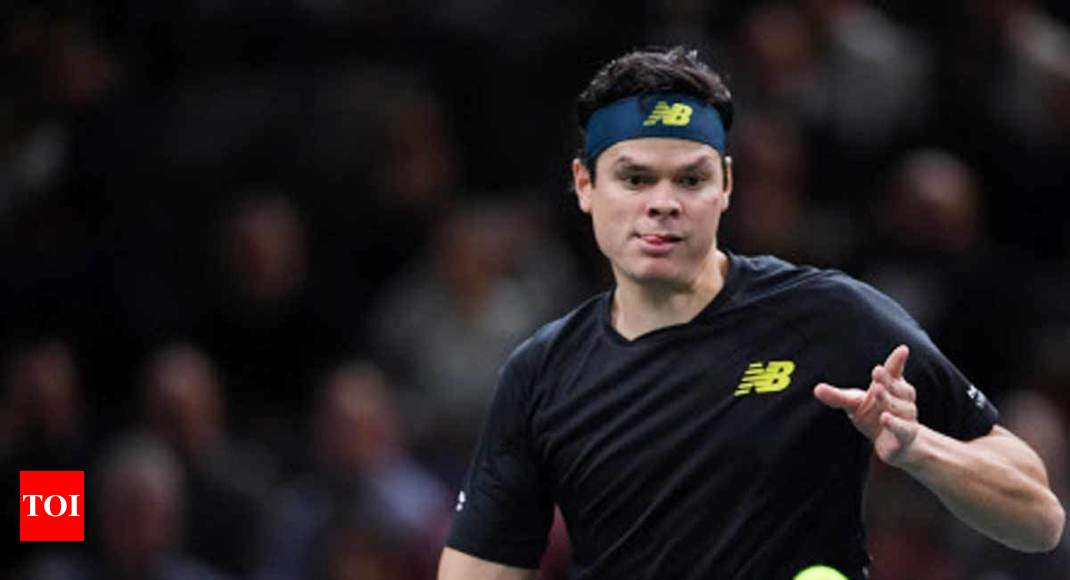 Milos Raonic withdraws from Canada's Davis Cup team - Times of India