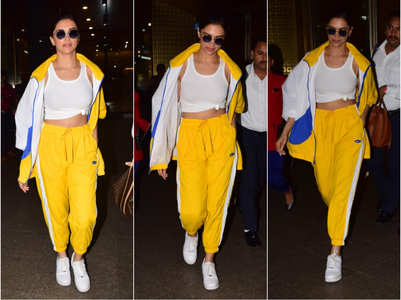 Deepika channels her inner diva at airport