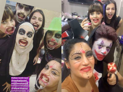 It's late Halloween for Ishqbaaz bahus