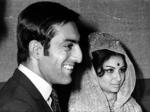 Mansoor Ali Khan and Sharmila Tagore