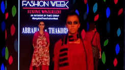 Kingfisher Radler presents Abraham & Thakore's collection at BGTFW 2019