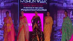 Showcasing collection of Deepam Silks at BGTFW 2019
