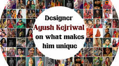 Designer Ayush Kejriwal on what makes him unique