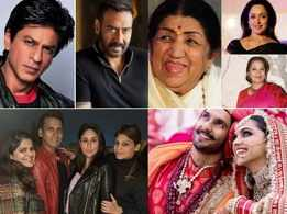 SRK congratulates Ajay Devgn, Celebs pray for Lata Didi's recovery, Ranveer-Deepika's anniversary plans, Katy Perry to watch Salman's 'Kick'