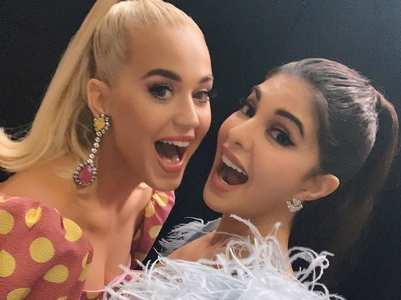 Jacqueline's fangirl moment with Katy Perry