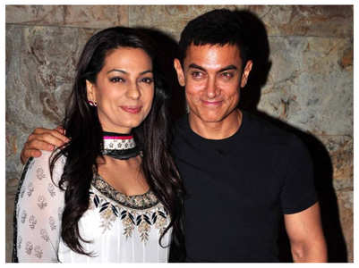 Juhi's b'day post with Aamir will crack you up
