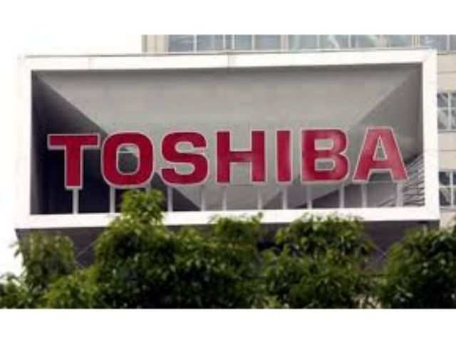 Toshiba reports best profit in 2 years, to buy out 3 listed units
