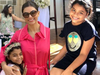 Daughter Alisah's essay on adoption moves Sushmita Sen to tears!