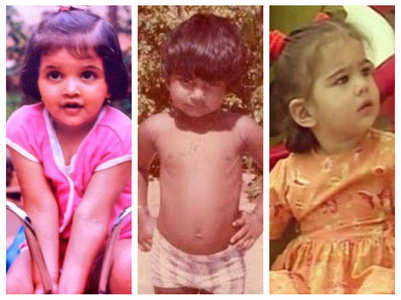 Unseen childhood pictures of Bollywood celebs
