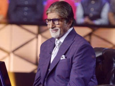 KBC11: Big B cracks a joke on his height