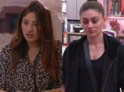 BB13: Mahira Sharma fights with Shefali