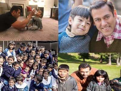 Children's Day '19: Salman's pics with kids