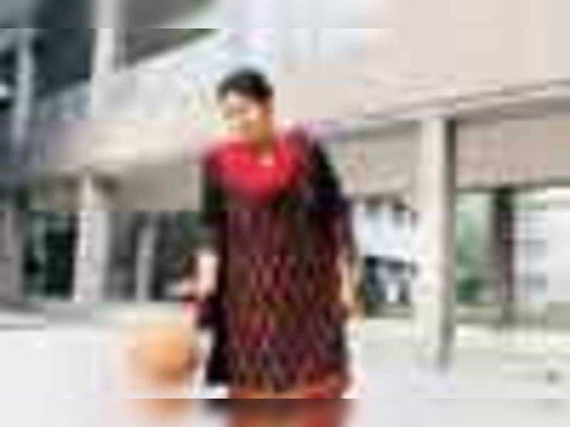 Smriti goes back to school