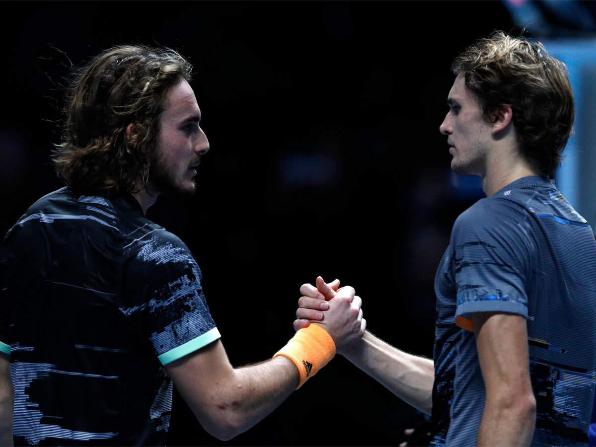 Stefanos Tsitsipas bat Alexander Zverev pour atteindre les demi-finales ATP |  Actualités du tennis - Times of India