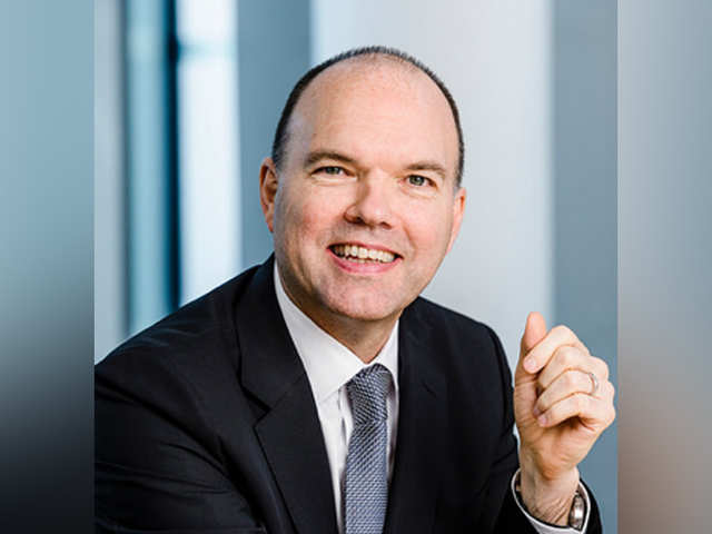 Vodafone's Global CEO Nick Read (File photo)