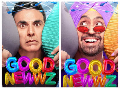First look poster of Akshay's 'Good Newwz'