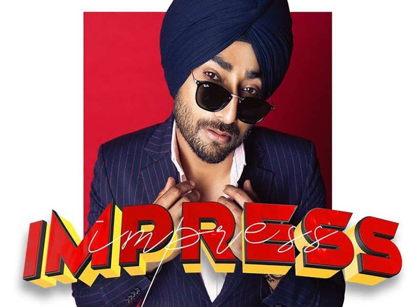 Ranjit Bawa's latest song 'Impress' is a peppy romantic track