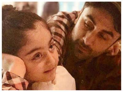 Ranbir's niece Samara Sahni's cute video