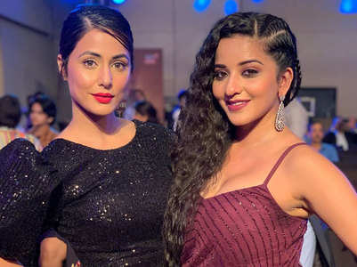 Bigg Boss beauties Hina-Mona look stunning