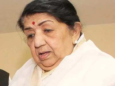 Lata Mangeshkar's health is now stable