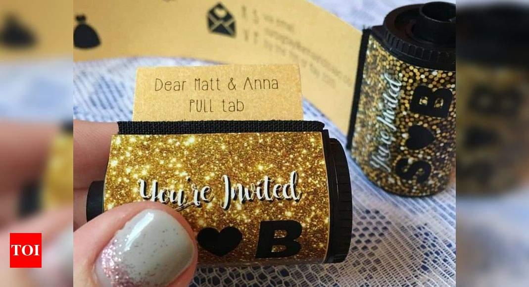 10 Handmade classic glitter heart wedding and evening invitations