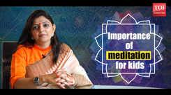 Importance of meditation for kids