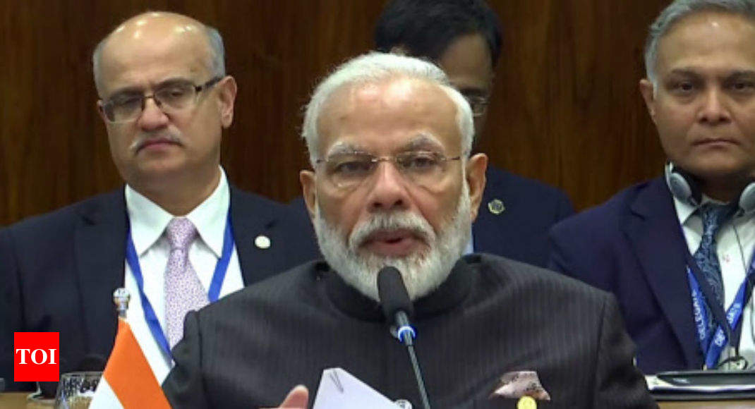 Terrorism results in $1 trillion loss to world economy: PM Modi at BRICS summit | India News - Times of India