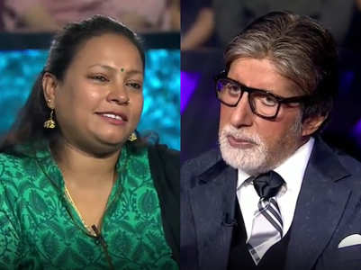 Big B motivates KBC contestant from orphanage