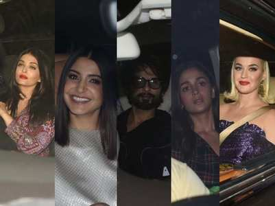 Pics: Celebs attend KJo's party for Katy Perry