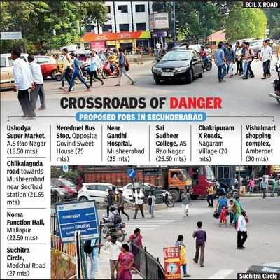Image result for Locals risk life to cross roads, bridge plans remain on paper