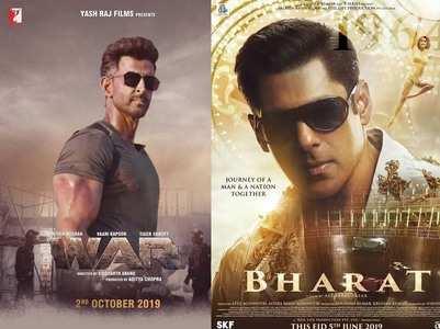 Hrithik's 'War' beats Salman's 'Bharat'