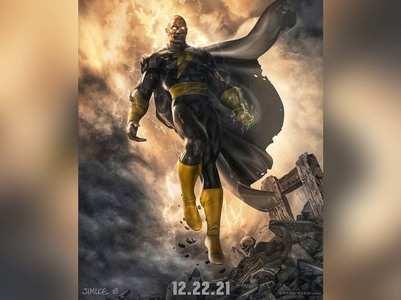The Rock announces BLACK ADAM standalone movie