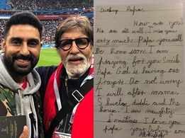 Don't miss this old letter by Jr AB to Sr AB!