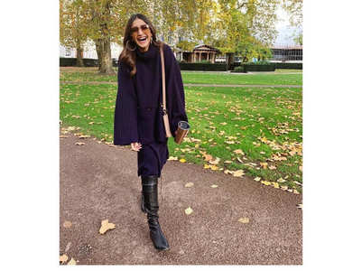 Sonam's got London on her mind