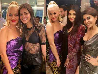 Who wore what at Karan Johar's party for Katy Perry