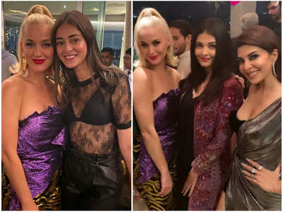 Celebs express joy of posing with Katy Perry