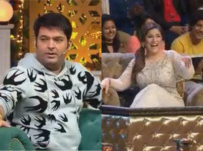Kapil pulls Archana's leg; says she dyes hair at 4 am