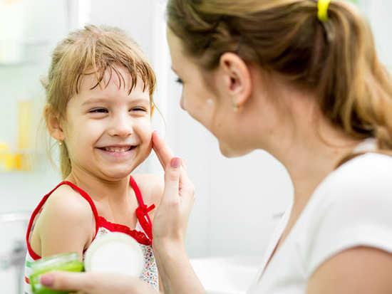 Simple ways to protect your child's soft and tender skin