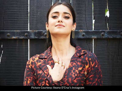 Pics: Ileana slays in tiger-printed pantsuit