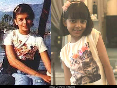 Pics that prove Aaradhya is splitting image of Ash