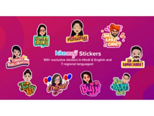 Hike launches avatars with HikeMoji stickers