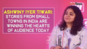 Ashwiny Iyer Tiwari talks about her films