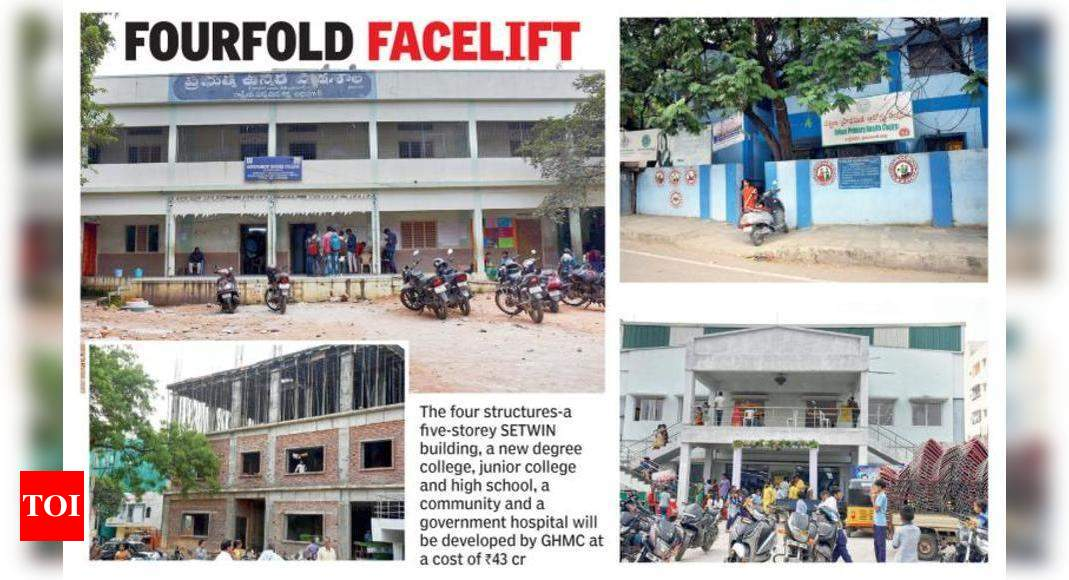 Sec Bad To Get Govt Community Hall Degree College Revamped Hospital Hyderabad News Times Of India