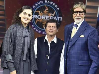 KBC 11: Taapsee reveals she was a scholar kid