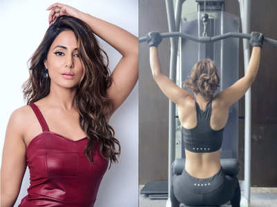 Hina is giving us major fitness goal
