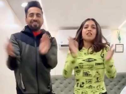 Watch: Ayushmann  dances to 'Dheeme Dheeme'