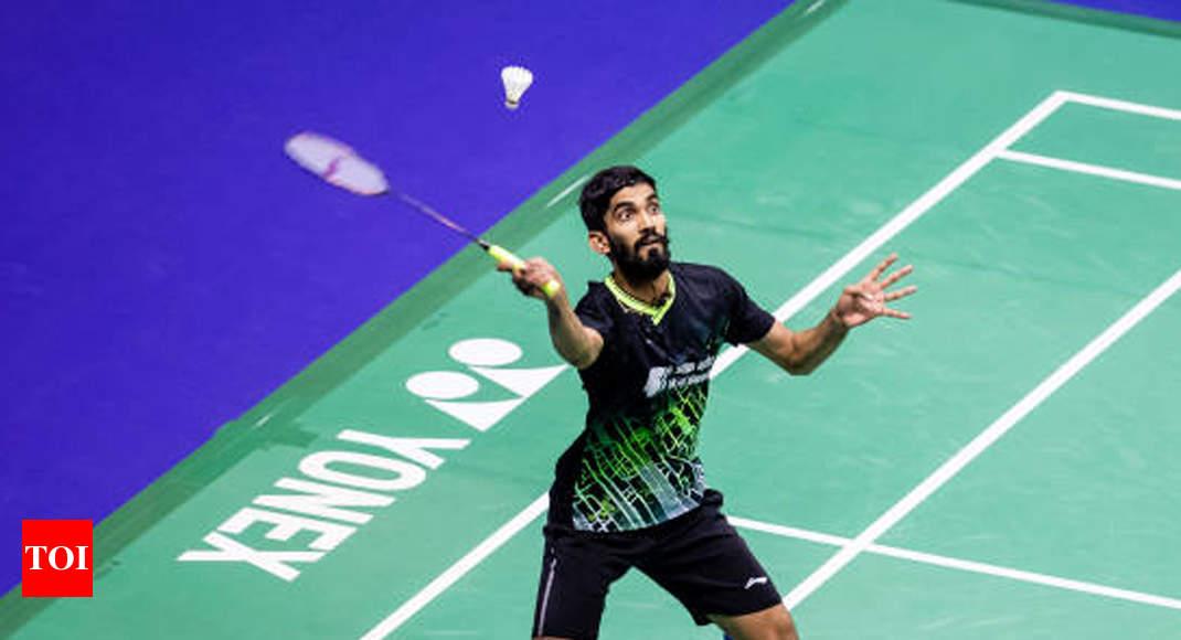 Hong Kong Open: Kidambi Srikanth loses in semis - Times of India