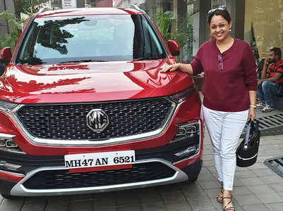 Taarak's Mrs Bhide aka Sonalika buys a new car