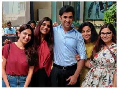 Pic: Amit Sadh wraps up Shakuntala Devi shoot