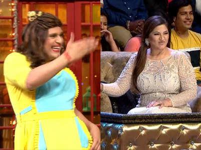 Krushna jokes Archana snatched Sidhu's chair